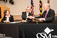 CSM-UMD School of Nursing Articulation Signing